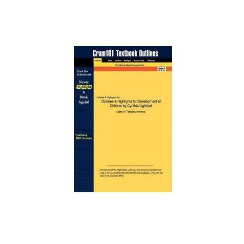Studyguide for Development of Children by Lightfoot, Cynthia, ISBN 9781429202251