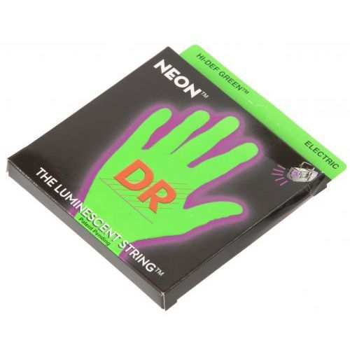 Dr nge 10 hidef green neon medium struny do gitary elektrycznej 10-46