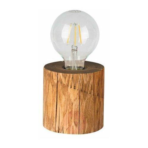 Lampka stołowa TRABO z drewna E27 SPOT-LIGHT