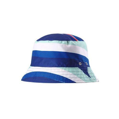 Kapelusz przeciwsłoneczny Reima UV Viehe niebieski we wzór, dwustronny