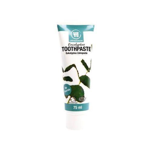 Urtekram Pasta do zębów eukaliptusowa bio - 75 ml - (5765228837818)