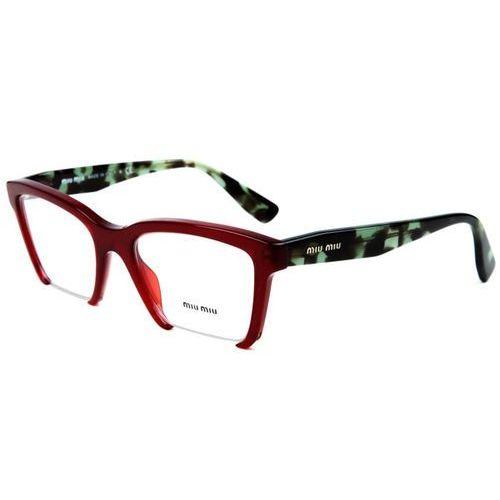 Miu miu Okulary korekcyjne mu04nv rasoir tkw1o1