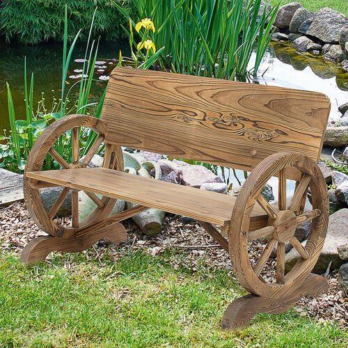 Ławka ogrodowa drewno STYLOWA