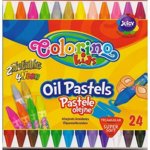 Pastele olejne 24 kolory colorino marki Patio-colorino