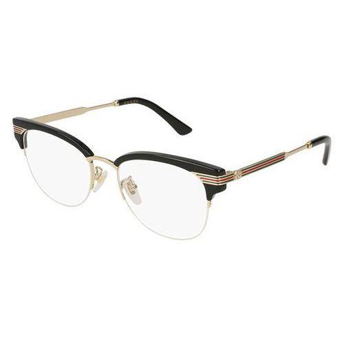 Okulary korekcyjne gg 0201o 001 marki Gucci