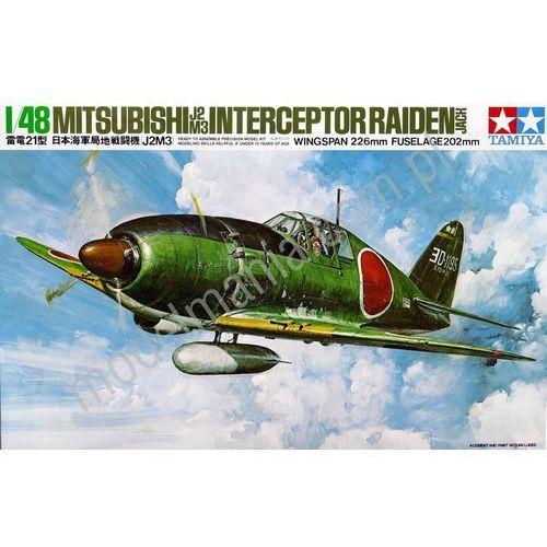 """Tamiya Japoński myśliwiec przechwytujący mitsubishi j2m3 raiden """"jack"""" 61018"""