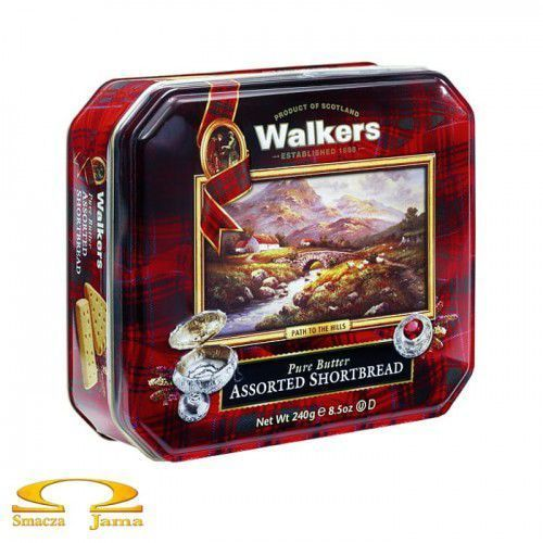 Ciastka Walkers Shortbread Heritage Collection 240g, SLOD110