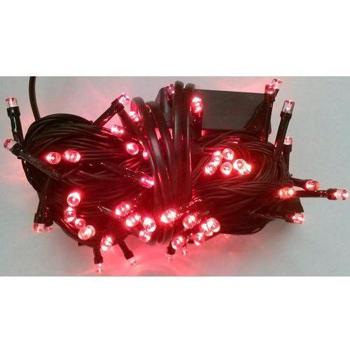 Lampki choinkowe LED 100 czerwony i sterownik z kategorii ozdoby świąteczne