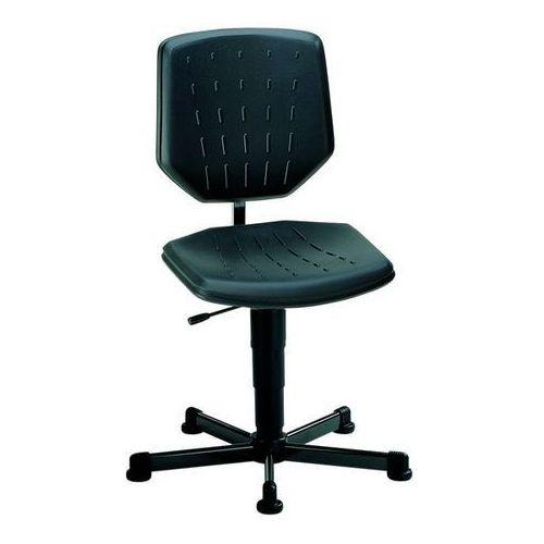 Bimos Obrotowe krzesło do pracy,na ślizgaczach, zakres regulacji wysokości 430 - 600 mm