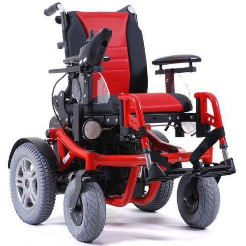 Wózek terenowy z napędem elektrycznym forest kids 6 wyprodukowany przez Vermeiren