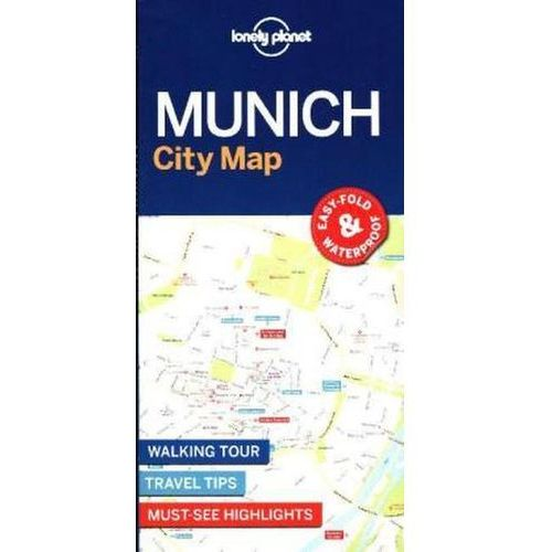 Lonely Planet Munich City Map (2 str.)