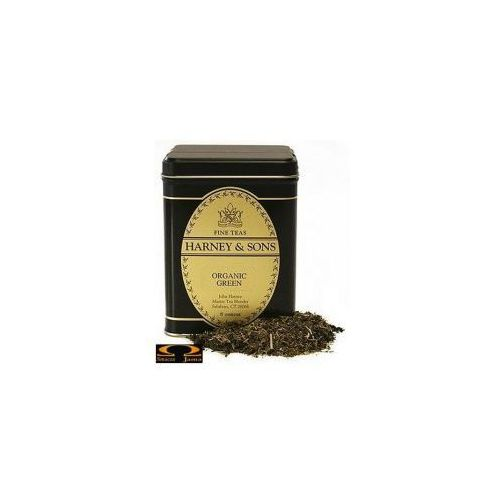 Herbata Harney & Sons Organic Green with Citrus & Gingko, puszka liściasta 114g