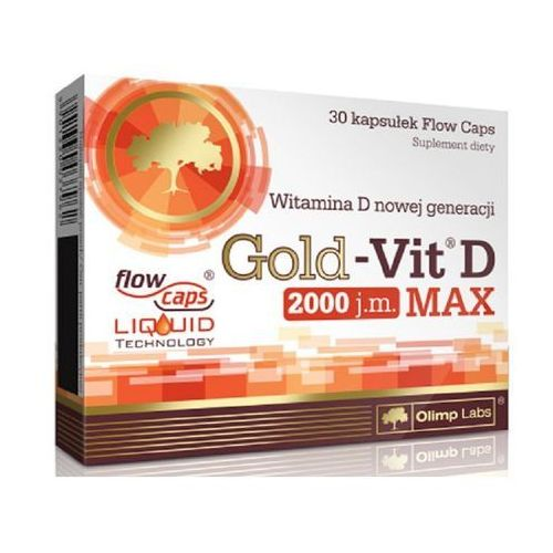 Kapsułki Gold-Vit® D MAX 30kaps