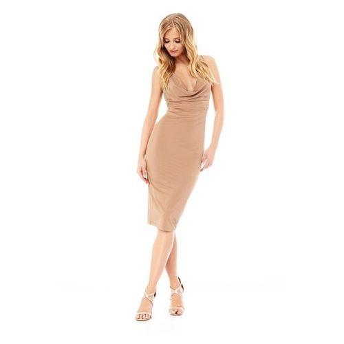 Sugarfree Sukienka savannah w kolorze nude