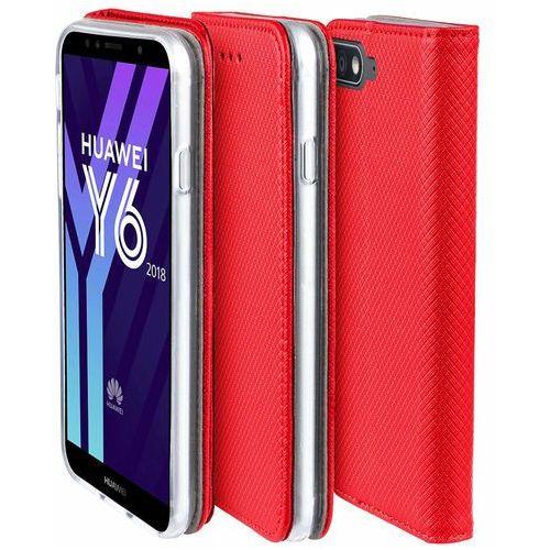 Etui Huawei Y5 2018 smart czerwone