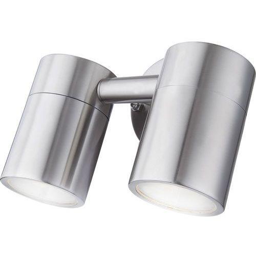 Kinkiet lampa zewnętrzna ścienna Globo Style 2x5W GU10 reflektorek chrom 3207-2L (9007371340446)