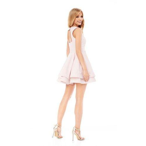 Sukienka peonia w kolorze jasnoróżowym, Sugarfree