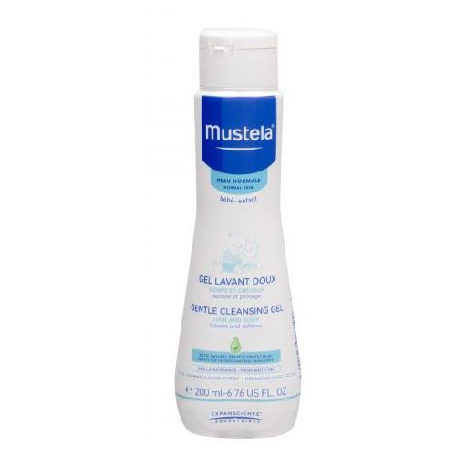 Mustela Bébé Gentle Cleansing Gel Hair and Body żel pod prysznic 200 ml dla dzieci (3504105028190)