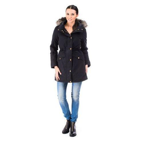 "Kurtka Levi's Hooded Down Parka Jacket ""Brown"" - produkt dostępny w BeJeans"