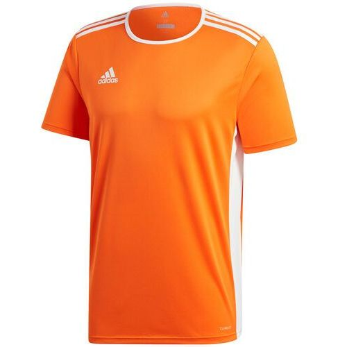 Koszulka dla dzieci adidas Entrada 18 Jersey JUNIOR pomarańczowa CD8366/CF1043, kolor pomarańczowy