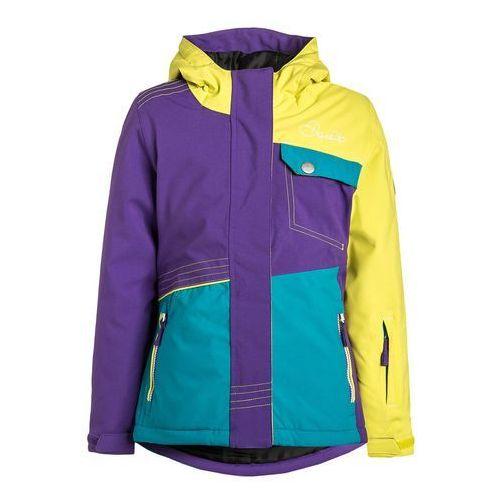 Dare 2B CRAZE Kurtka narciarska neon spring/royal purple/enamel (kurtka dziecięca)