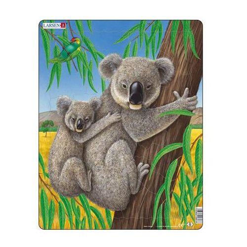 Neuveden Puzzle maxi - medvídek koala s mládětem/25 dílků