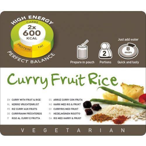 Adventure Food Curry Fruit Rice Żywność kempingowa podwójna porcja Posiłki wegetariańskie