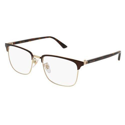 Okulary korekcyjne gg0130o 002 marki Gucci