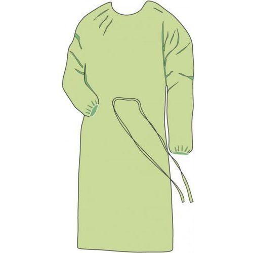 FARTUCH HIGIENICZNY z włókniny zielony 10szt L z kategorii Odzież medyczna