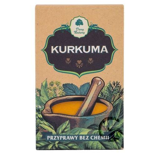 Dary Natury (p): kurkuma - 50 g