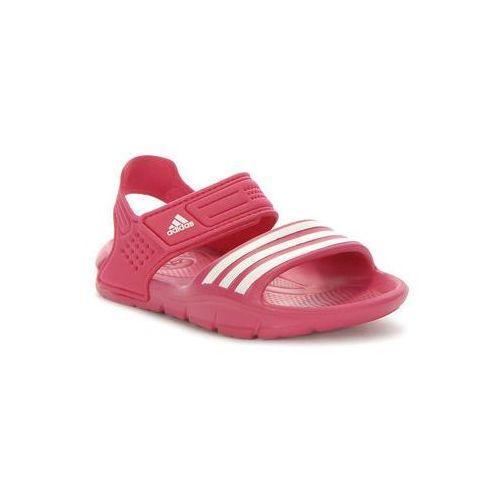 Adidas. AKWAH 8 K. Sandały - różowe, rozmiar 39 1/3 - sprawdź w MERLIN