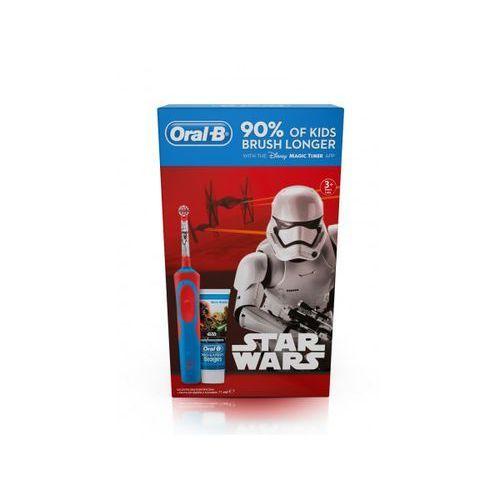 Oral b Oral- b szczoteczka starwars + pasta do zębów gratis >> promocje - neoraty - szybka wysyłka - darmowy transport od 99 zł!
