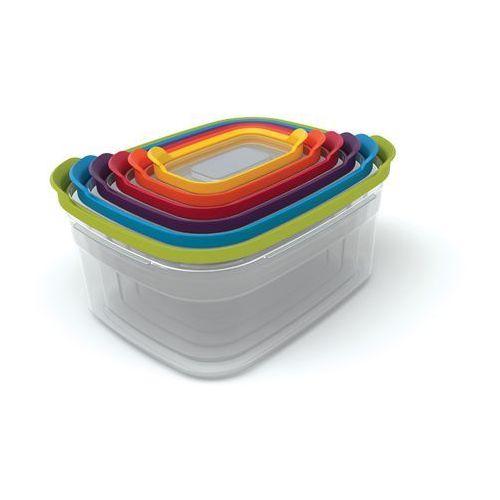 - nest storage 6 zestaw pojemników do przechowywania żywności ilość elementów: 6 marki Joseph joseph