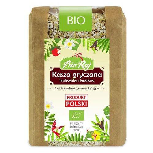 Kasza gryczana niepalona bio 400 g bio raj marki Bio raj (konfekcjonowane)