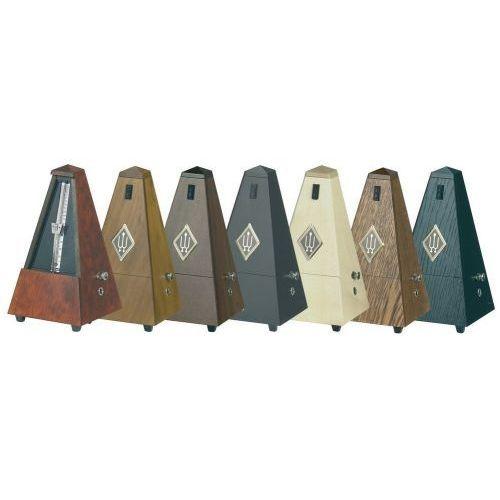 metronom kształt piramidy orzechowy brąz. wysoki połysk 814 marki Wittner