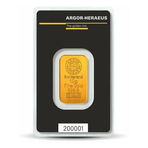 10 g Sztabka złota - 15dni