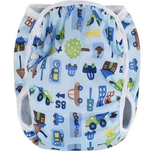 pieluszka kąpielowa, niebieskie auta (roz. l) marki T-tomi