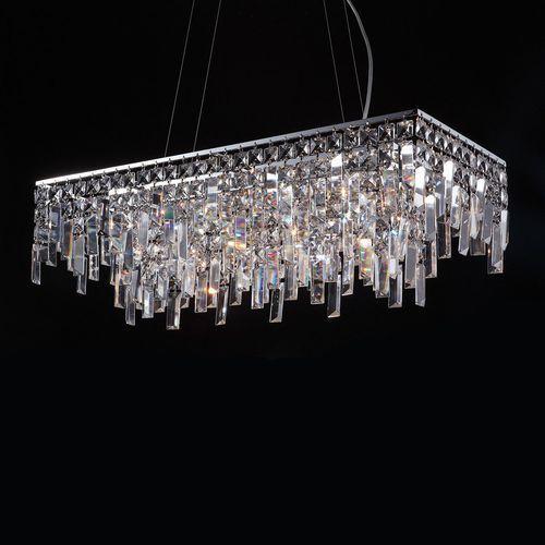 Lampa wisząca lavenda md92915-11a z kryształami zwis 11x20w g4 chrom marki Italux