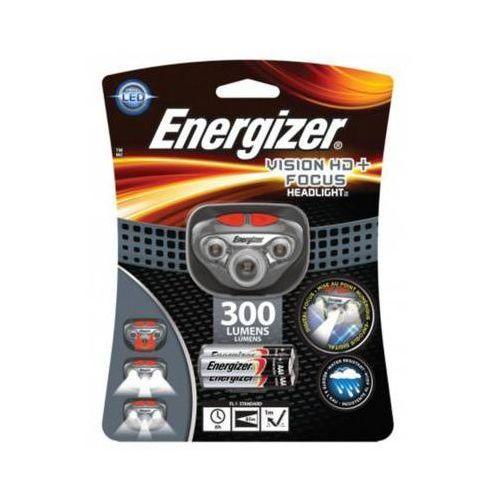 300 lumens headlight vision hd+ focus latarka czołowa + 3aaa marki Energizer