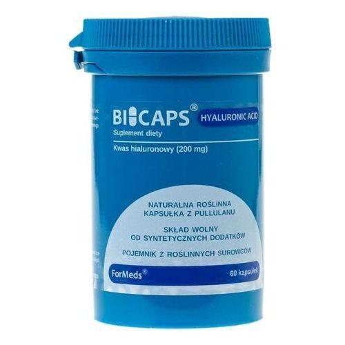 BICAPS HYALURONIC ACID 200 mg kwasu hialuronowego 60kaps. Formeds (5903148620084)