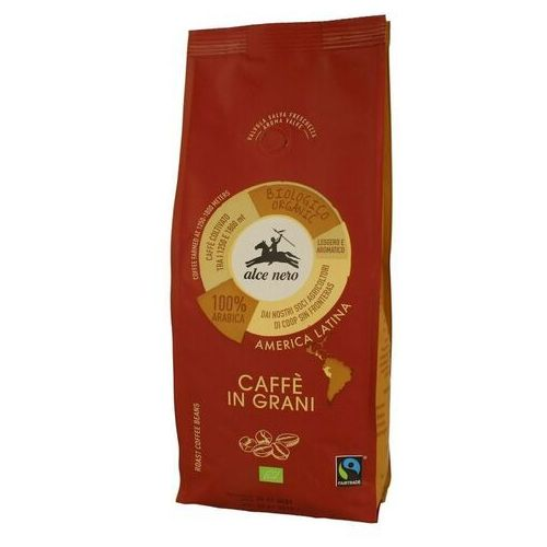 Alce nero Kawa 100% arabica bio 500g ziarnista fair trade - (8009004901285)