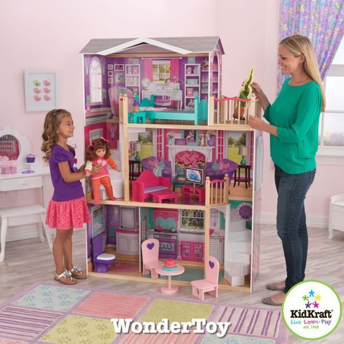 Elegancka Posiadłość Gigantyczny Domek dla lalek KidKraft Wonder Toy (domek dla lalek) od wonder-toy.com