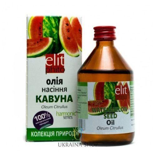 Olej z pestek arbuza, arbuzowy, 200 ml marki Elit phito