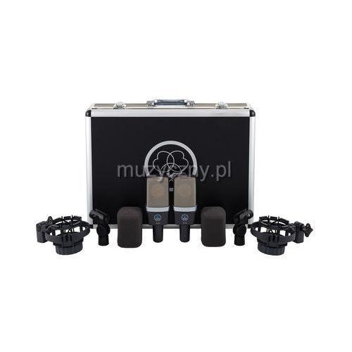 c-214 stereo set zestaw stereo mikrofonów pojemnościowych w walizce marki Akg