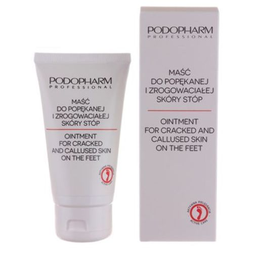 podoflex ointment for cracked and callused skin on the feet maść do popękanej i zrogowaciałej skóry stóp (75 ml) marki Podopharm