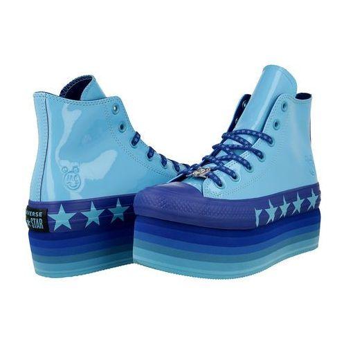 Converse x Miley Cyrus Chuck Taylor All Star Platform 563724C, kolor niebieski