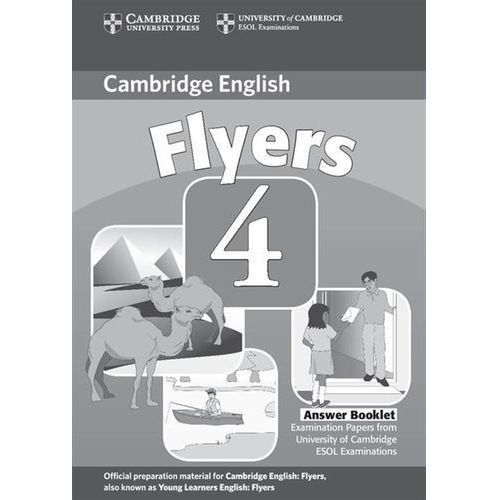 Flyers 4 Answer Booklet 2ed (9780521694063)