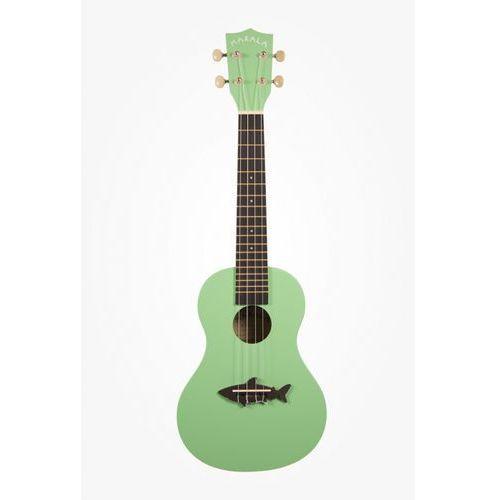 Kala makala mk-c shark ukulele koncertowe kolor zielony