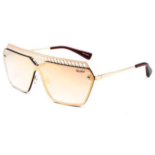 Okulary słoneczne qw-000179 hall of fame rose/rose marki Quay australia