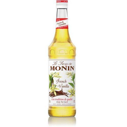 Monin Syrop smakowy french vanilla, francuska wanilia 0,7l